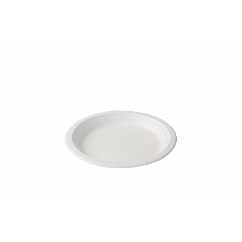 Jednorazový tanier z cukrovej trstiny Ø17cm
