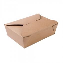 Eko papierový takeaway box...