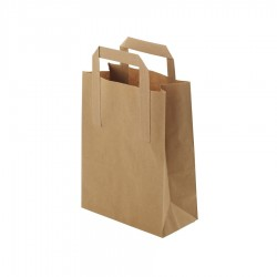 Papierová taška hnedá  M...