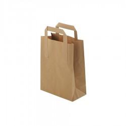 Papierová taška hnedá S...