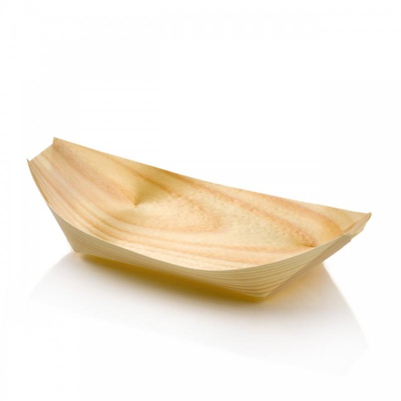 eko drevená miska 17cm z drevenej dýhy