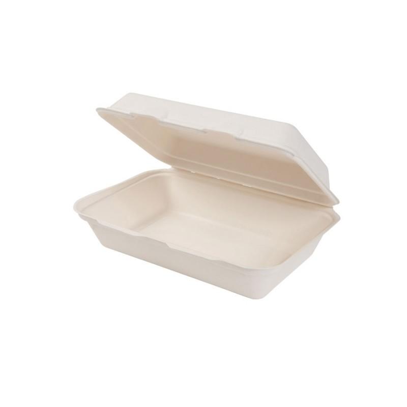Gastro box z cukrovej trstiny 1 komorový 1000 ml