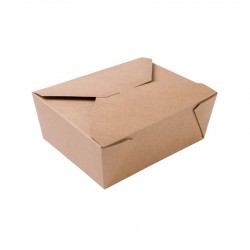 Papierový takeaway box...