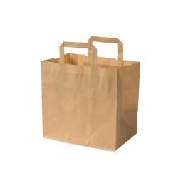 Papierová taška hnedá L...