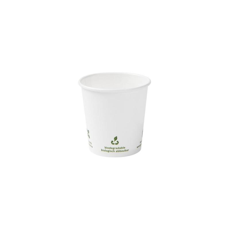 Papierový pohár na kávu 100 ml biely