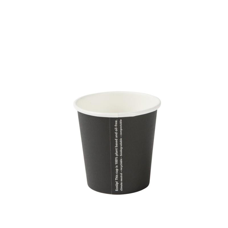 Papierový pohár na kávu 100 ml čierne