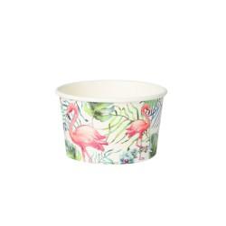 Papierový pohár na zmrzlinu...
