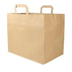 Papierová taška hnedá XXL...