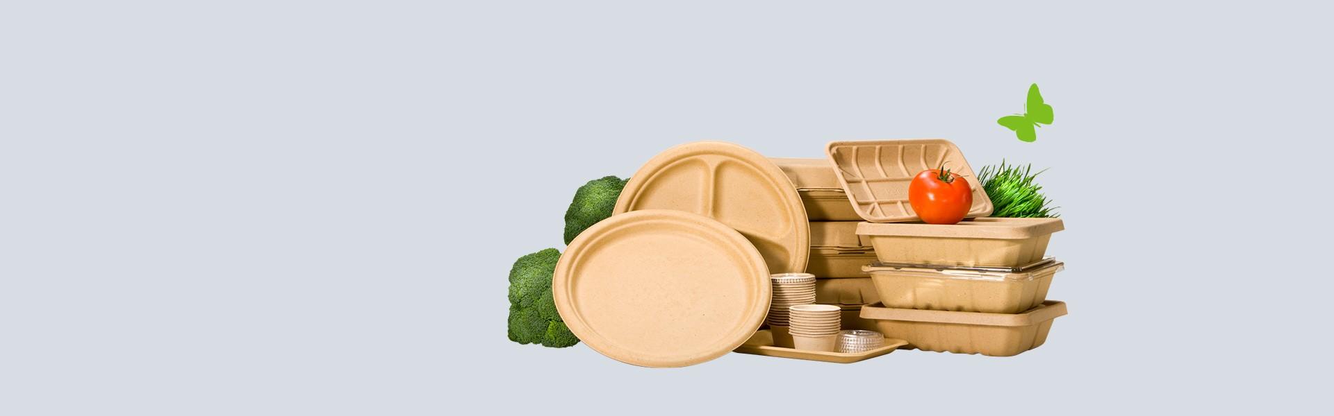 Ekologické a kompostovateľné jednorázové obaly